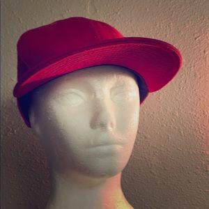 ✅ NWT NEW ERA 9 FIFTY SnapBack Hat Cap Ballcap Red